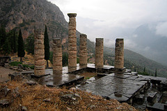 The Oracle at Delphi. Photo Credit: wallyg